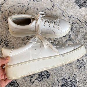 Steve Madden Bertie White Sneakers